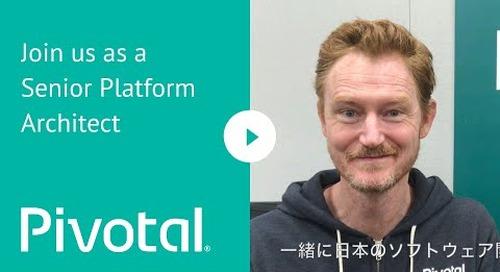 APJ - Tokyo, Japan - Join us as a Senior Platform Architect
