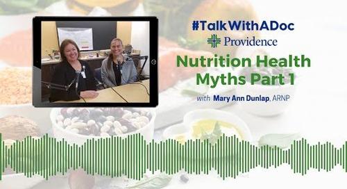 TWAD - Nutrition Myth Part 1