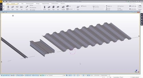Create Profile from DWG in Tekla Structures
