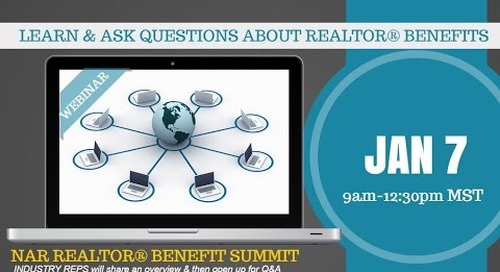 NAR Benefit Summit REALTORS Property Resource® 1.7.2015