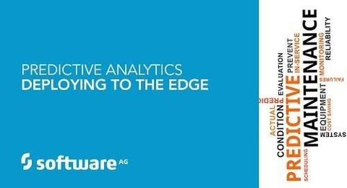 Demo: Predictive Analytics – Deploying to the Edge