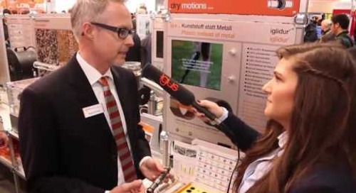 Results from metal versus plastic bushings test shown at Hannover Messe 2016