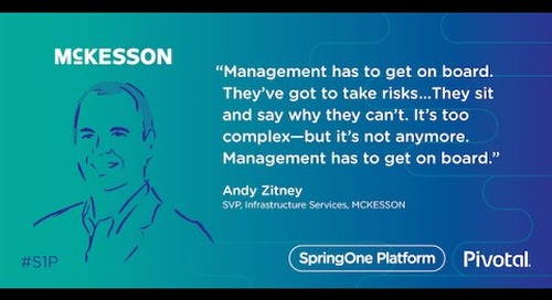 Results Should Be More Fun — Andy Zitney, McKesson