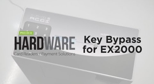 Key Bypass for EX2000 | ACDI Hardware