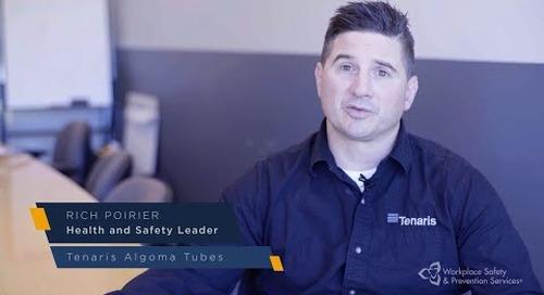 Building A Safer North: Tenaris Algoma Tubes Inc
