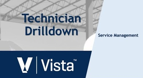 Technician Drilldown