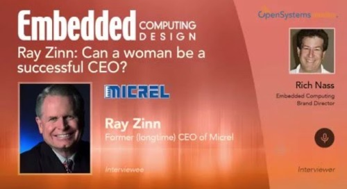 Ray Zinn: Can a woman be a successful CEO?