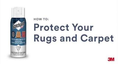 Scotchgard™ Rug & Carpet Protector – How to Apply