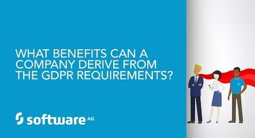 Episode 6: What benefits can a company derive from the GDPR requirements?