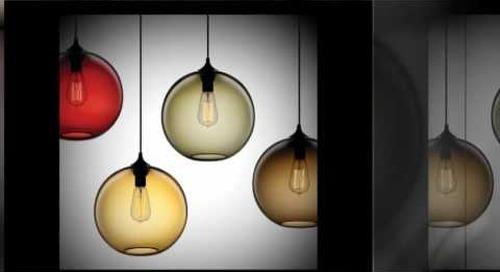 Solitaire Modern Pendant Light