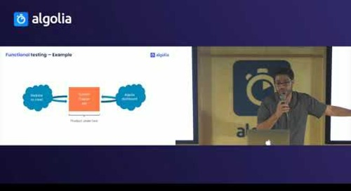 How to write automated tests for a Node.js codebase - Adrien Joly, Algolia