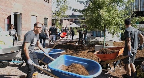 Stantec in the Community: Mulching in Toronto