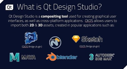 Qt Design Studio & Software Development Integration {On-demand webinar}