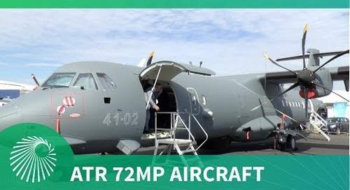 Leonardo's ATR 72MP Multirole Maritime patrol and C4ISR aircraft