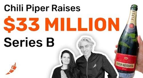 Chili Piper Raises $33M Series B to Continue Make Meetings Happen
