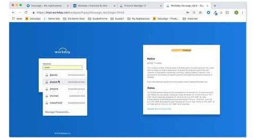 "DocuSign for Workday: How to Use the ""Distribute Documents"" process"