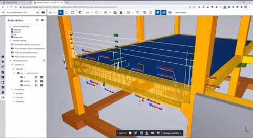 Drawing Annotations in Trimble Connect 3D Web Viewer