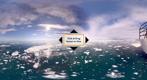 Take in the Top Spitsbergen Highlights in 360° VR