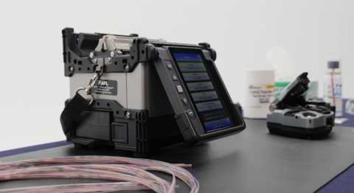 SpiderWeb Ribbon® Wrapping Tube Cable and Mass Fusion Splicer Saves Time