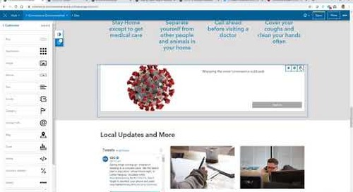 Configuring and Adding Your Content to the Coronavirus Response Template (video)