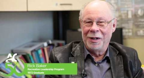 Rick Baker- 50 years of Algonquin College stories