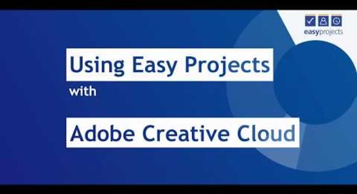 Adobe Creative Cloud to Easy Projects Installation