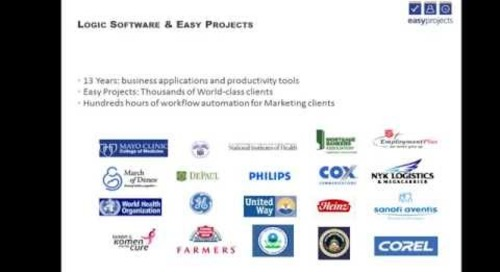 Easy Projects Marketing Automation Webinar