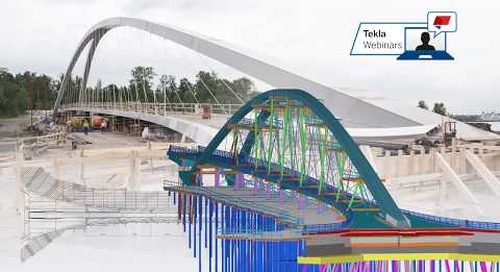 Webinar: Easy steps to more efficient bridge design workflow