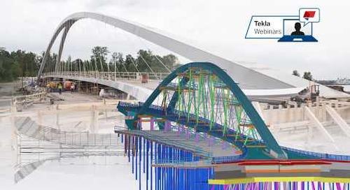 Webinar: Easy steps to more efficient bridge design workflow