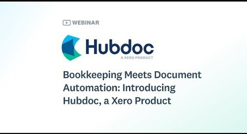 Bookkeeping Meets Document Automation – April 10, 2019 [AU]