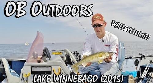 "Walleye Fishing Lake Winnebago - Episode 2.5 ""One-Lining a Limit"""