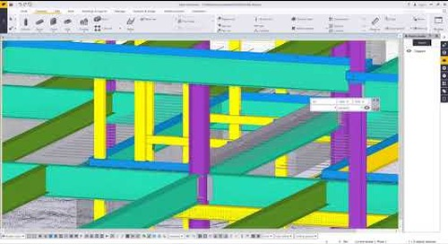 Tekla Structures & Trimble RealWorks: Working with Point Clouds