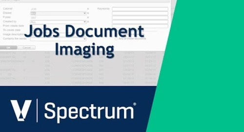 Spectrum Job Document Imaging