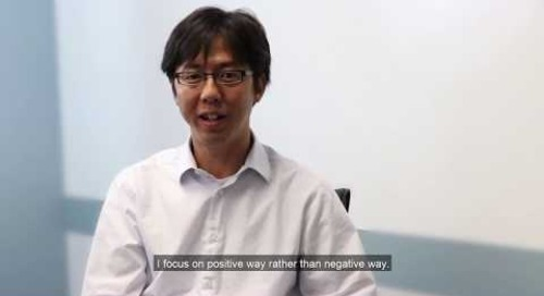 Fundamental Behavior #25- Be Positive- Yosuke Kikuchi