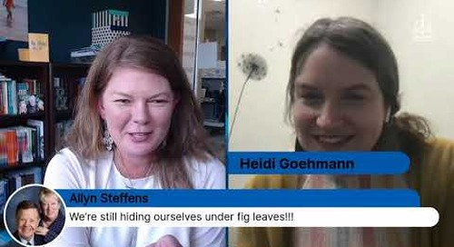 Live Chat with Heidi Goehmann on Finding Hope: From Brokenness to Restoration