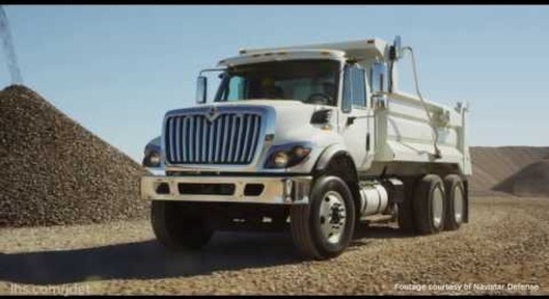 AUSA 2016: Navistar Defense Heavy Dump Truck requirement proposal