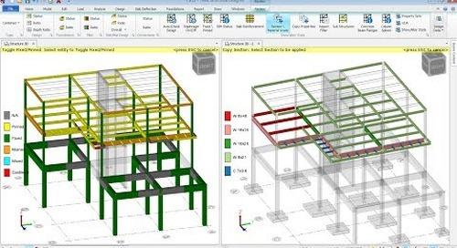 Tekla Structural Designer Show Alter State Tools