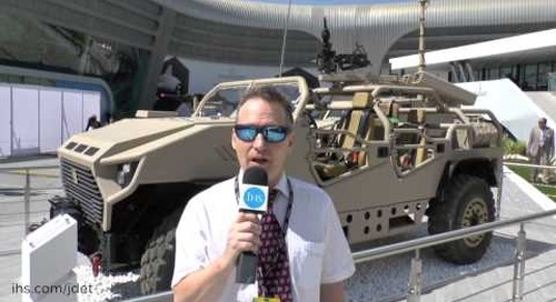 IDEX 2015 Shaun Connors talks about the NIMR Special Operations Vehicle unveiled at IDEX 2015