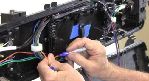 Standard Ribbon Splicing for AFL LightGuard™ 410 Aerial Weathertight Closure