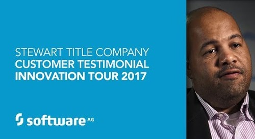 Stewart Title Company -Customer Testimonial - Innovation Tour 2017
