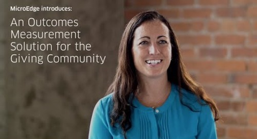 What People Are Saying About Outcomes Measurement - Blackbaud Outcomes