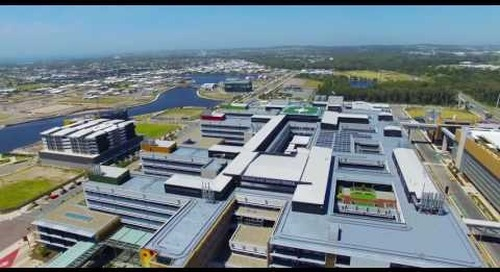 The Sunshine Coast University Hospital drone flythrough, November 2016