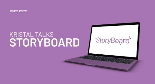 Kristal Talks Storyboard | ACDI