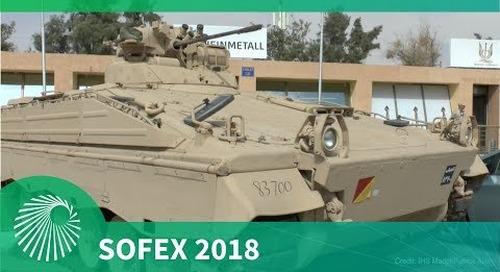SOFEX 2018: Jordanian Army Rheinmetall Marder 1A3