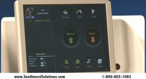 Self-Service Automotive Key Cabinet High Security Tracking Dealership Keys