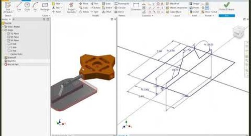 Using Autodesk Inventor for Skeletal Modeling