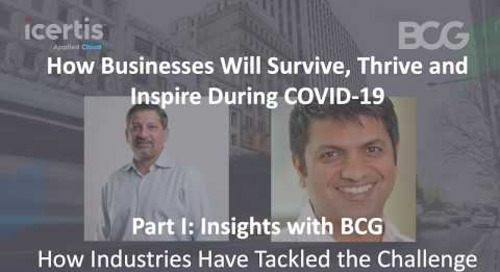 Insights with BCG: How Industries Have Tackled the Challenge
