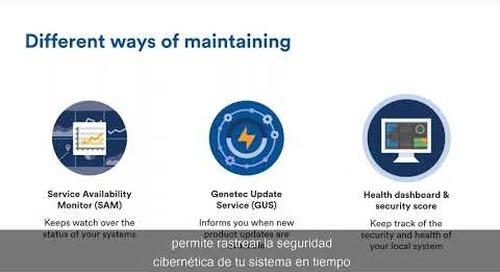 Seguridad cibernética: Mantenimiento optimo y disponibilidad del sistema de seguridad física