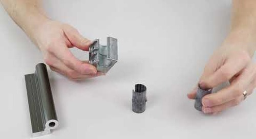 How to change a drylin® W linear bearing liner
