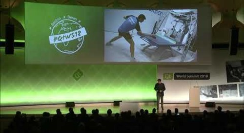 QtWS18 Keynote – Let's teach machines to be self-aware by Michel Min, Omron